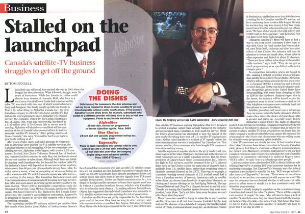 Article Preview: Stalled on the launchpad, June 1997 | Maclean's