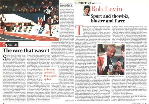 Article Preview: The race that wasn't, June 1997 | Maclean's