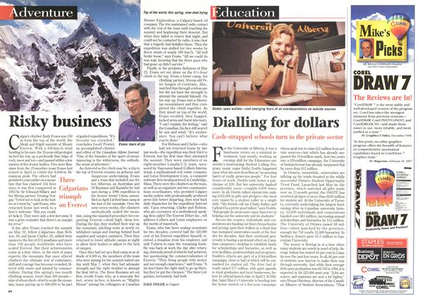 Article Preview: Dialling for dollars, June 1997 | Maclean's