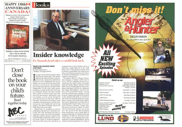 Article Preview: Insider knowledge, June 1997 | Maclean's