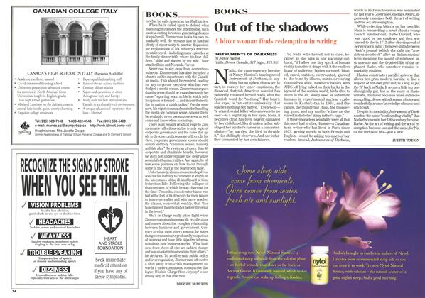 Article Preview: Out of the shadows, June 1997 | Maclean's