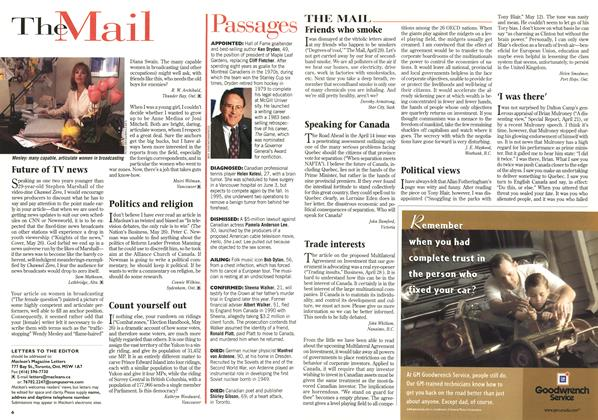 Article Preview: TheMail, June 1997 | Maclean's