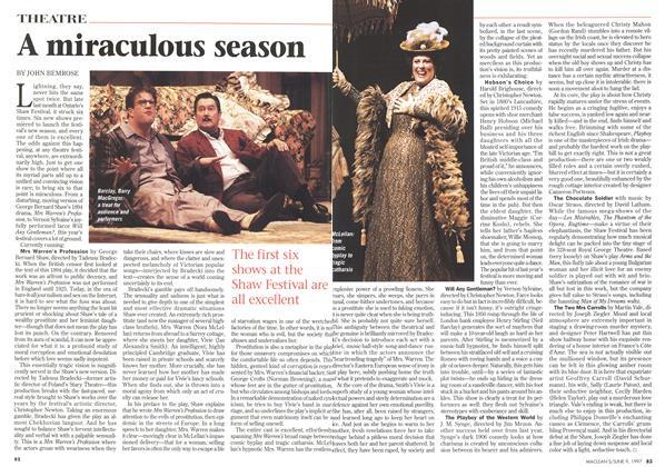 Article Preview: A miraculous season, June 1997 | Maclean's