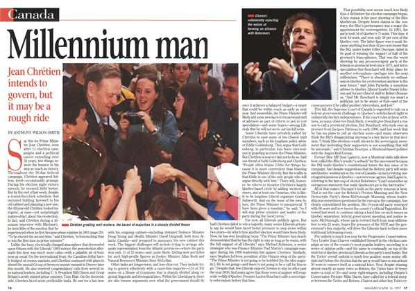 Article Preview: Millennium man, June 1997 | Maclean's