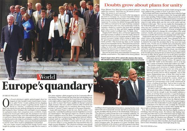 Article Preview: Europe's quandary, June 1997 | Maclean's