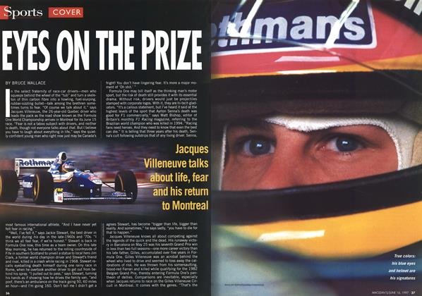 Article Preview: EYES ON THE PRIZE, June 1997 | Maclean's