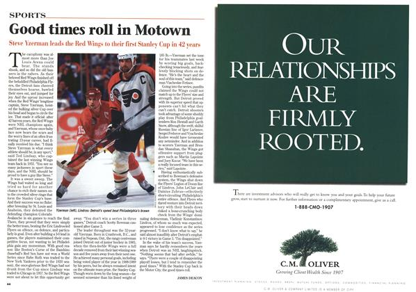 Article Preview: Good times roll in Motown, June 1997 | Maclean's