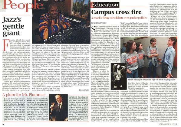 Article Preview: Campus cross fire, June 1997 | Maclean's