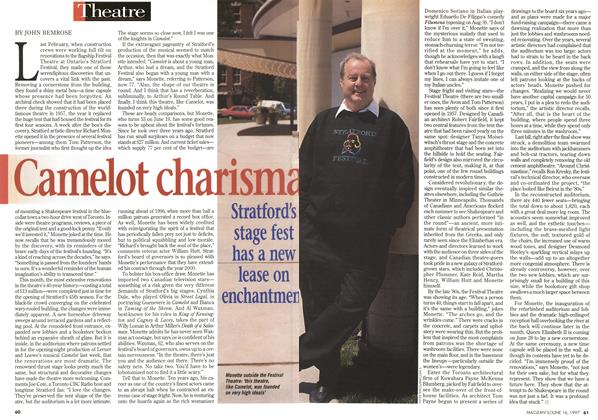 Article Preview: Camelot charismas, June 1997 | Maclean's
