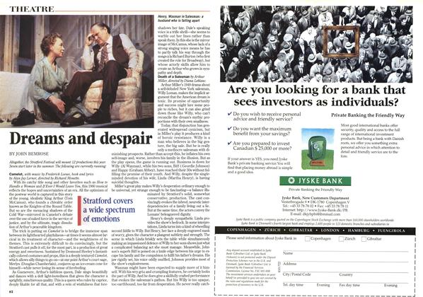 Article Preview: Dreams and despair, June 1997 | Maclean's