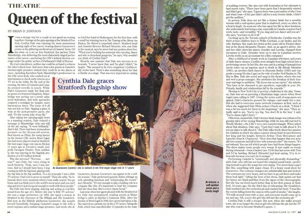 Article Preview: Queen of the festival, June 1997 | Maclean's
