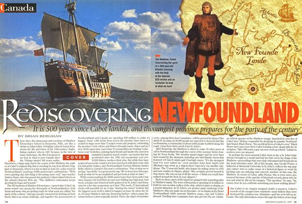 Article Preview: REDISCOVERING NEWFOUNDLAND, June 1997 | Maclean's