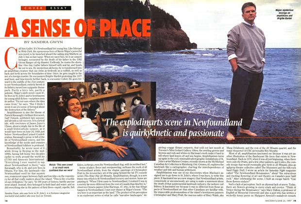 Article Preview: A SENSE OF PLACE, June 1997 | Maclean's