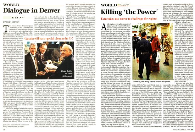 Article Preview: Killing 'the Power', June 1997 | Maclean's