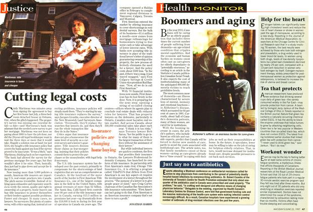 Article Preview: Cutting legal costs, June 1997 | Maclean's