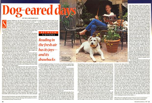 Article Preview: Dog-eared days, June 1997 | Maclean's