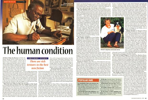 Article Preview: The human condition, June 1997 | Maclean's