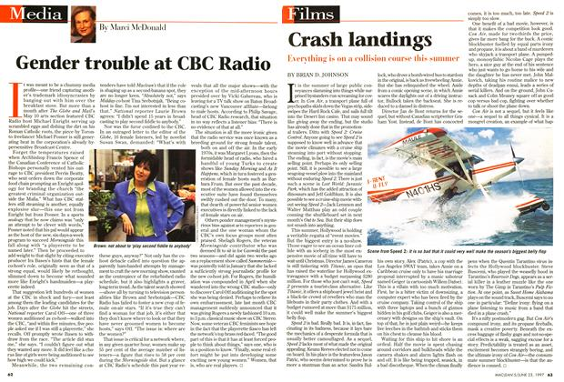 Article Preview: Gender trouble at CBC Radio, June 1997 | Maclean's