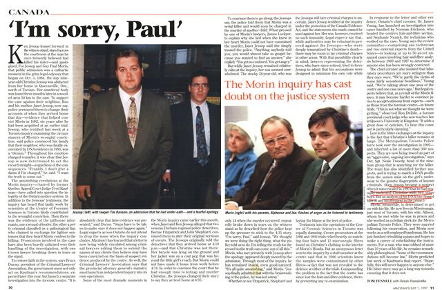 Article Preview: 'I'm sorry, Paul', July 1997 | Maclean's
