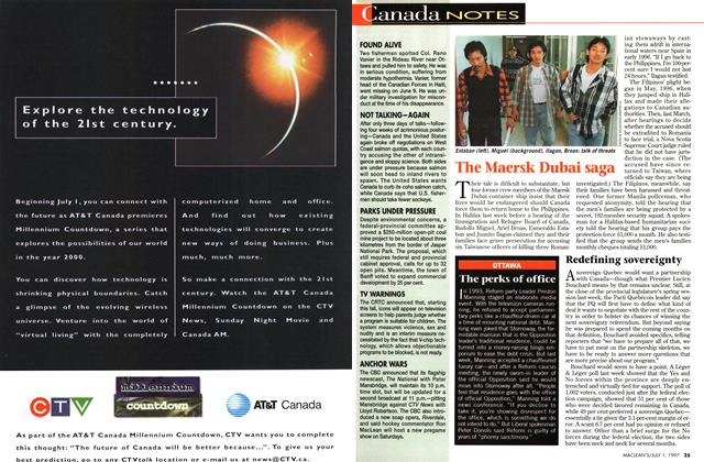 Article Preview: Canada NOTES, July 1997 | Maclean's