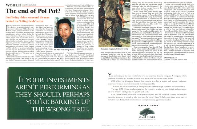 Article Preview: The end of Pol Pot?, July 1997 | Maclean's