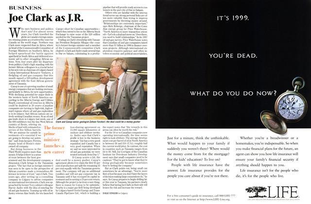 Article Preview: Joe Clark as J.R., July 1997 | Maclean's
