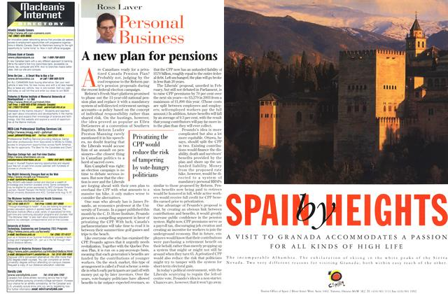 Article Preview: A new plan for pensions, July 1997 | Maclean's