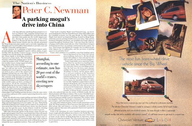Article Preview: A parking mogul's drive into China, July 1997 | Maclean's