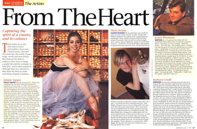 Article Preview: From The Heart, July 1997 | Maclean's
