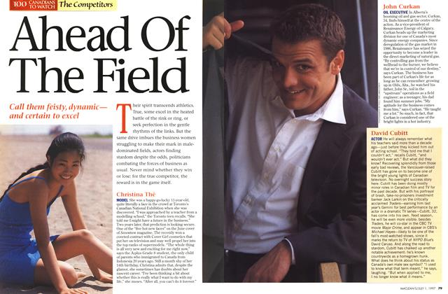Article Preview: Ahead Of The Field, July 1997 | Maclean's
