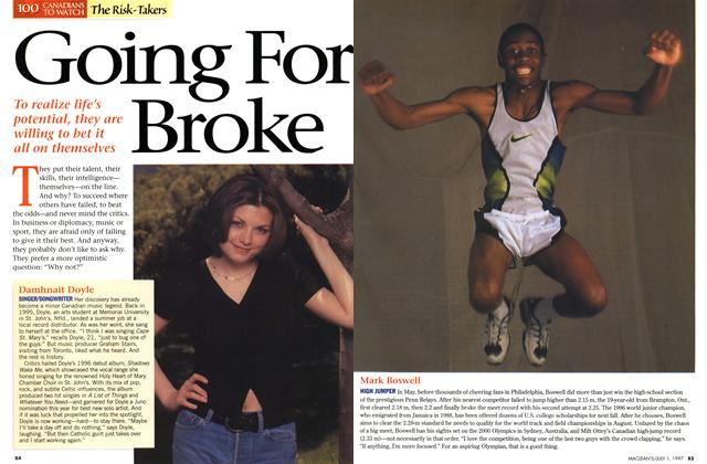 Article Preview: Going For Broke, July 1997 | Maclean's