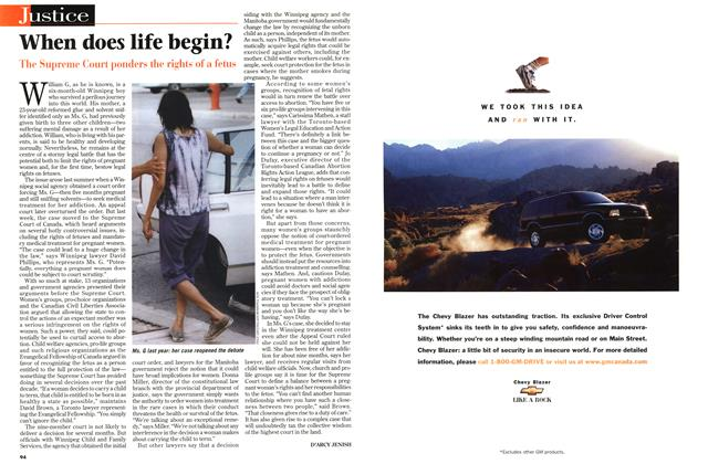 Article Preview: When does life begin?, July 1997 | Maclean's