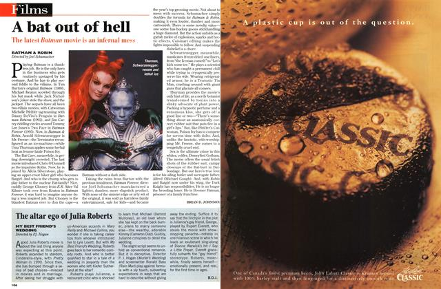 Article Preview: A bat out of hell, July 1997 | Maclean's
