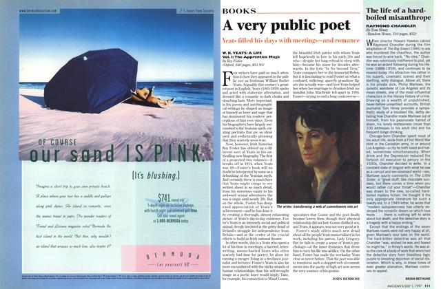 Article Preview: A very public poet, July 1997 | Maclean's