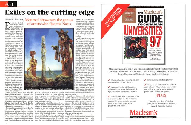 Article Preview: Exiles on the cutting edge, July 1997 | Maclean's