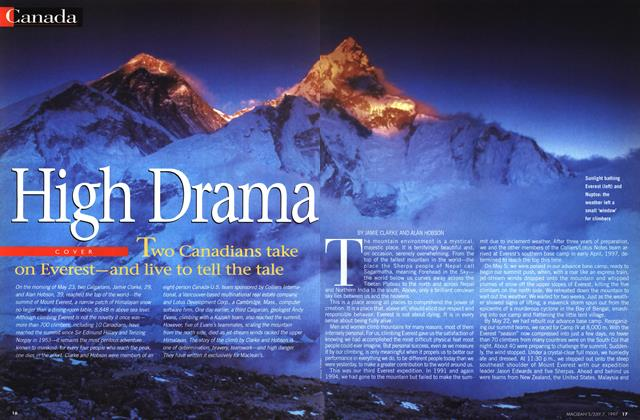 Article Preview: High Drama, July 1997 | Maclean's