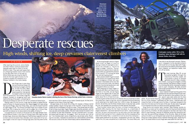 Article Preview: Desperate rescues, July 1997 | Maclean's