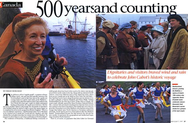 Article Preview: 500 year and counting, July 1997 | Maclean's