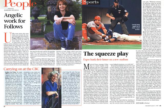 Article Preview: The squeeze play, July 1997 | Maclean's