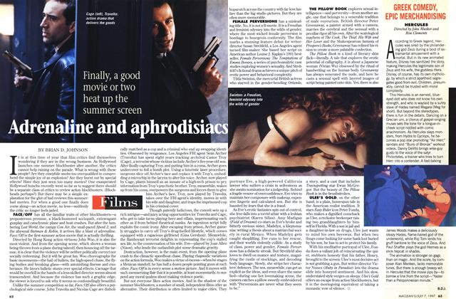 Article Preview: GREEK COMEDY, EPIC MERCHANDISING, July 1997 | Maclean's