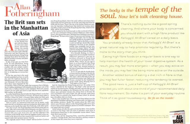 Article Preview: The Brit sun sets in the Manhattan of Asia, July 1997 | Maclean's