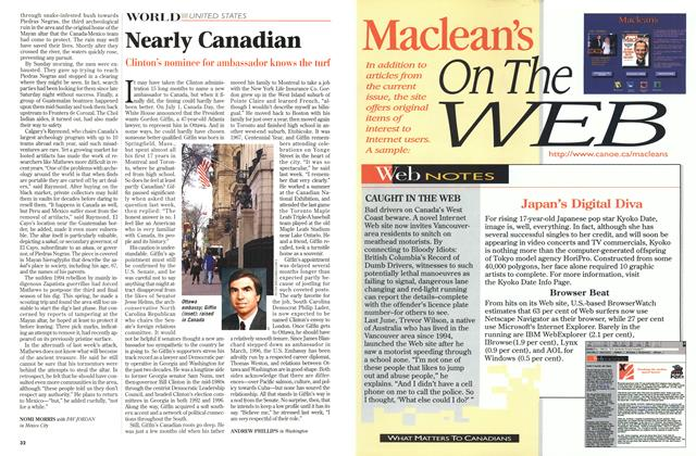 Article Preview: Nearly Canadian, July 1997 | Maclean's