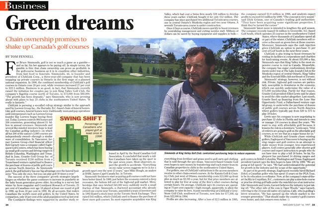 Article Preview: Green dreams, July 1997 | Maclean's