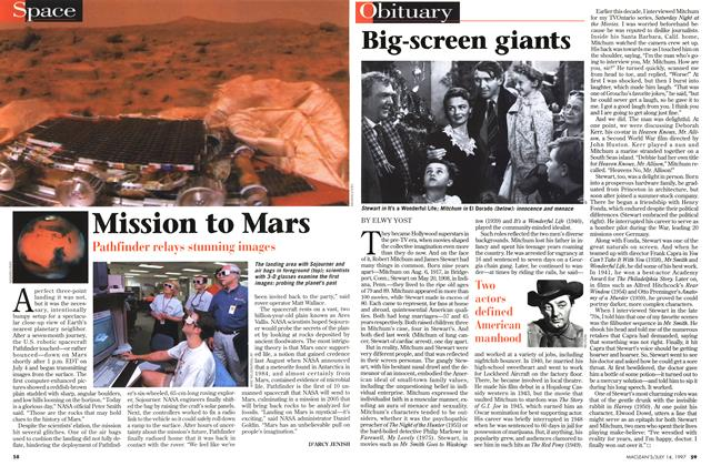 Article Preview: Big-screen giants, July 1997 | Maclean's