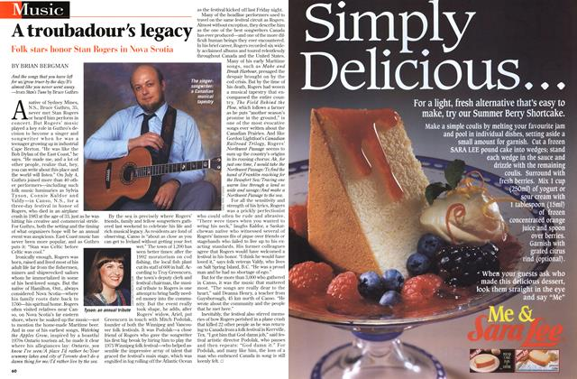 Article Preview: A troubadour's legacy, July 1997 | Maclean's