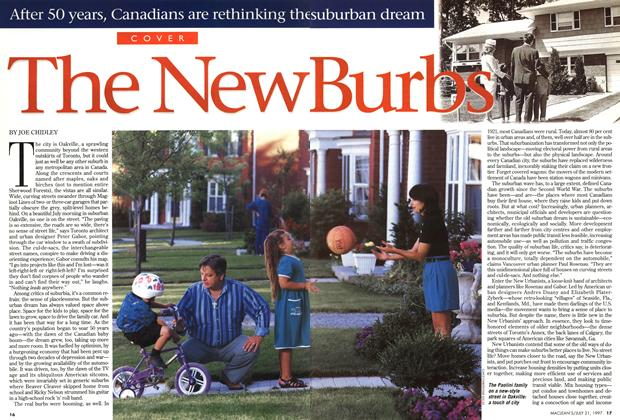 Article Preview: The New Burbs, July 1997 | Maclean's