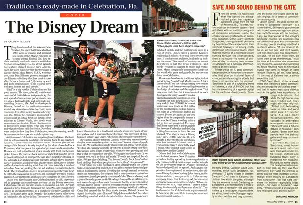 Article Preview: The Disney Dream, July 1997 | Maclean's
