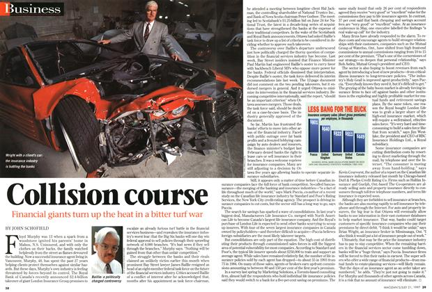 Article Preview: Collision course, July 1997 | Maclean's