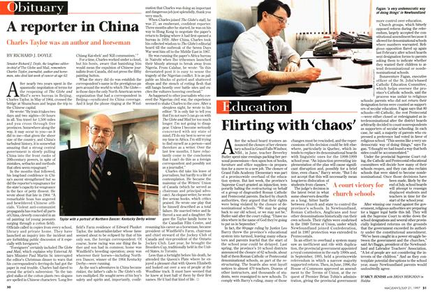 Article Preview: A reporter in China, July 1997 | Maclean's