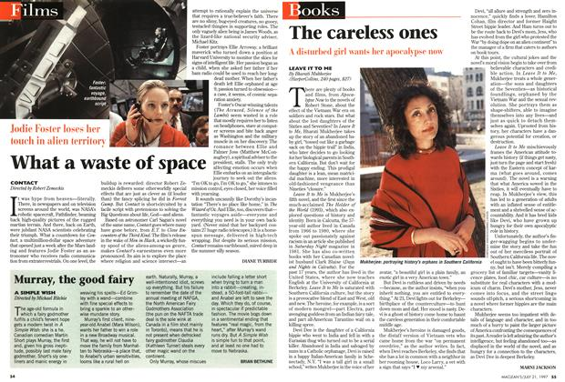 Article Preview: What a waste of space, July 1997 | Maclean's